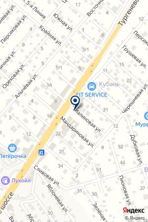 Авто-Стоп на карте Перекатного