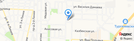 МегаАльянс на карте Краснодара