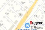 Схема проезда до компании Росдекор в Перекатном