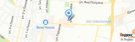 Renzo Rinaldi на карте Краснодара