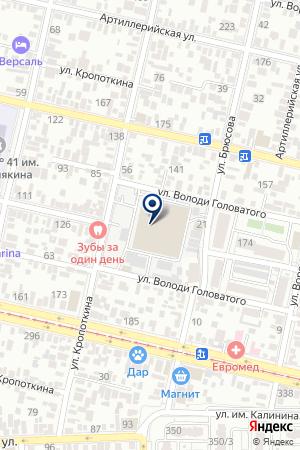 ТЕЛЕКОММУНИКАЦИОННАЯ ФИРМА ТЕЛКО КУБАНЬ на карте Краснодара