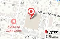 Схема проезда до компании Абразив-Кубань в Краснодаре