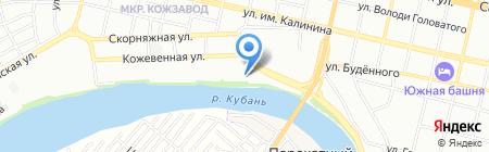 АН-Секьюрити Директ на карте Краснодара