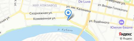 1000мелочей на карте Краснодара