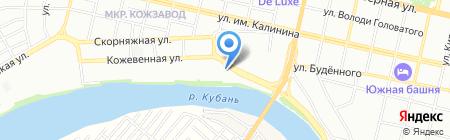 Принт Сервис на карте Краснодара