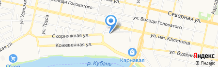 Альпа на карте Краснодара
