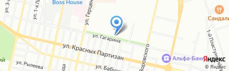 Бензотехника на карте Краснодара