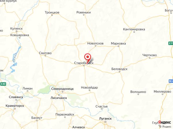 село Чмыровка на карте