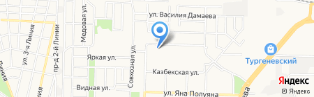 Янтарный-3 на карте Краснодара