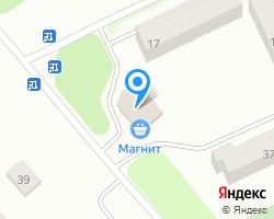 Схема местоположения почтового отделения 142631