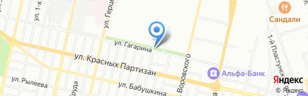 Вероника на карте Краснодара