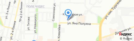 Формула воздуха на карте Краснодара