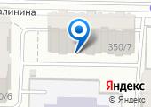 Краснодарский визовый центр на карте