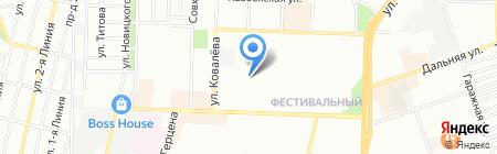 Детский сад №177 на карте Краснодара