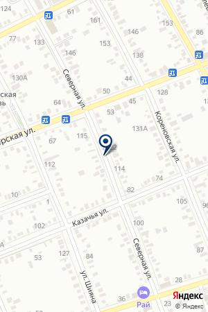 СРЕДНЯЯ ОБЩЕОБРАЗОВАТЕЛЬНАЯ ШКОЛА № 16 ИМ. Л.Н. ТОЛСТОГО на карте Тимашевска