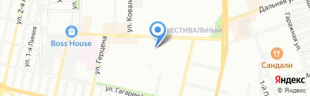 Детский сад №169 на карте Краснодара