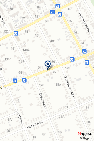 ДЮСШ на карте Тимашевска