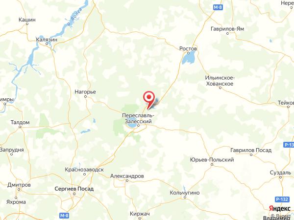 деревня Красногор на карте