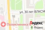 Схема проезда до компании Цветочный магазин в Ликино-Дулёво