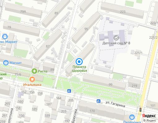 Товарищество собственников жилья «ТСЖ № 102» на карте Краснодара