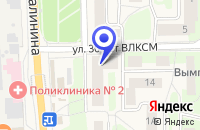 Схема проезда до компании АПТЕКА МЕДФАРМСОЮЗ в Ликино-Дулево