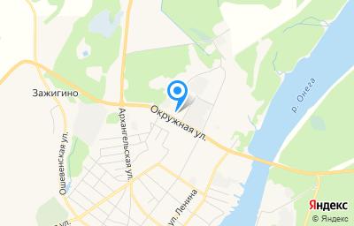 Местоположение на карте пункта техосмотра по адресу Архангельская обл, г Каргополь, ул Окружная, д 16 стр 2