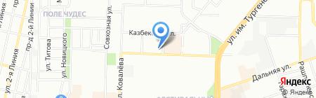 С Пылу с Жару на карте Краснодара