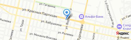ИФНС на карте Краснодара