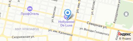 Трест Южный сахар на карте Краснодара