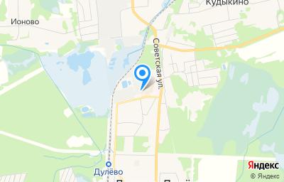 Местоположение на карте пункта техосмотра по адресу Московская обл, г Орехово-Зуево, г Ликино-Дулёво, ул Советская