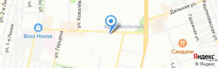 Славянский стиль на карте Краснодара