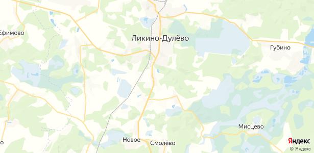 Коротково на карте