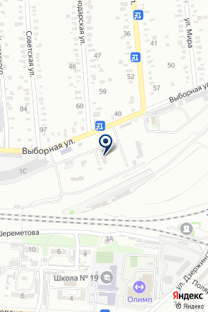 МАГАЗИН АВТОЗАПЧАСТИ на карте Тимашевска