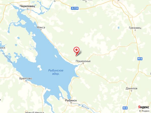 поселок Дор на карте