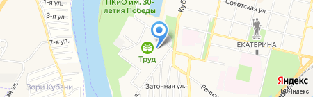 Стайер на карте Краснодара