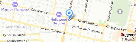 СДС-ЮГ на карте Краснодара