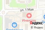 Схема проезда до компании Магнит в Ликино-Дулёво