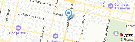 EMG`auto на карте Краснодара