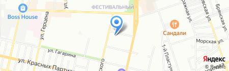 Детский сад №130 на карте Краснодара