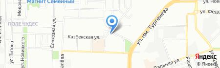 Охран Монтаж Сервис на карте Краснодара