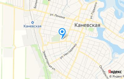 Местоположение на карте пункта техосмотра по адресу Краснодарский край, ст-ца Каневская, ул Герцена, д 80А