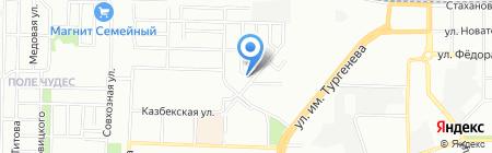 Магнит на карте Краснодара