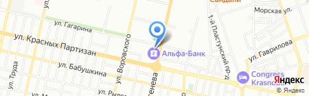 Банкомат КБ Центр-инвест на карте Краснодара
