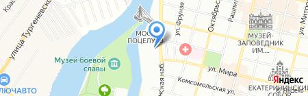Поехали на карте Краснодара