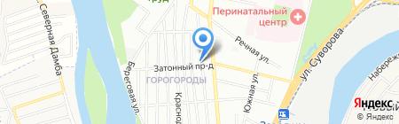 Котелевский и К на карте Краснодара