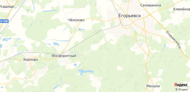Тараканово на карте