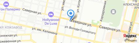 Детский сад №38 на карте Краснодара