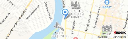 La Кабанья на карте Краснодара