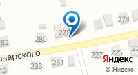 Компания Продовольственный магазин на ул. Луначарского (Новотитаровская) на карте