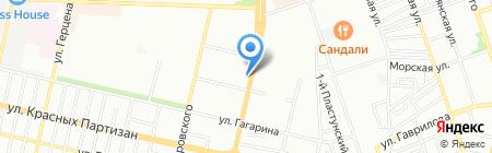 Paris на карте Краснодара